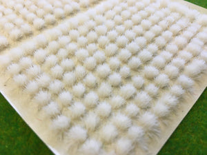 White 4mm - Mini Grass Tufts
