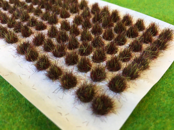 Earth Brown 6mm - Standard Grass Tufts