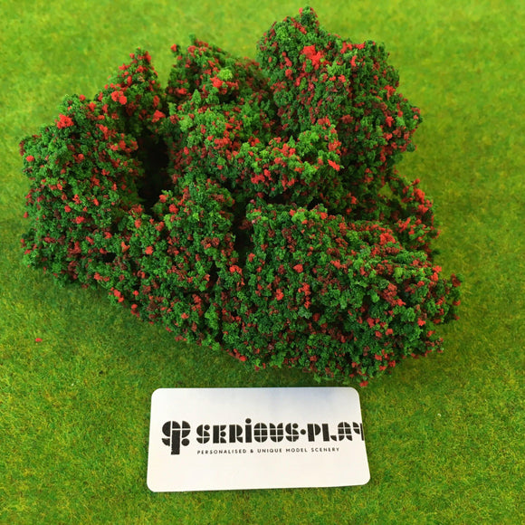 Red Berry Bushes - Clump Foliage