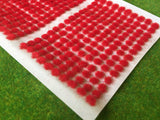 Fire Red 2mm - Mini Grass Tufts