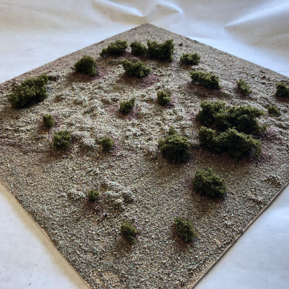 Rough Pastures - Scrub Land - Modular Terrain Tiles