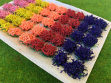 Large Mixed Colour Flower Tufts 6mm (write on order)
