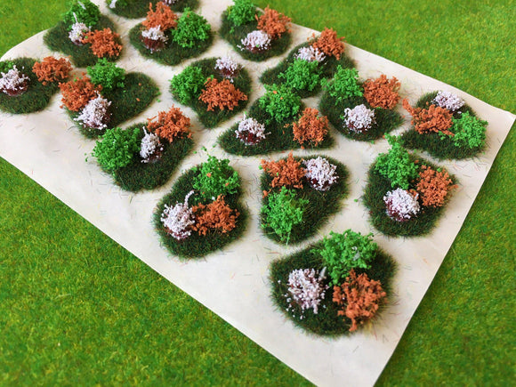 Flowering Dales Tuft Dioramas - Static Grass Tufts