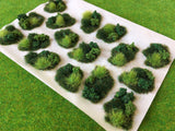 Scrub and Brush Dales Tuft Dioramas - Static Grass Tufts