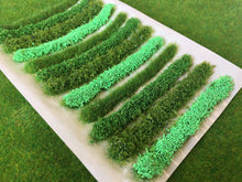 Light Green Flower Bush & Hedge Strips - Static Grass Tufts