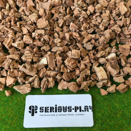 Large Cork Pieces 6-12mm - Modelling Scatter