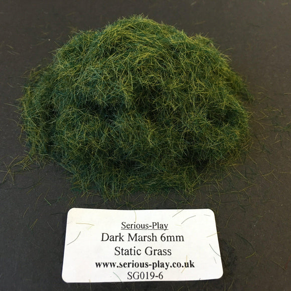 Dark Marsh 6mm - Static Grass 1kg/500g Bulk Bags