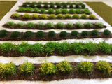 Large Farm Crops Set 02 Spring Flower Crops - Static Grass Tufts