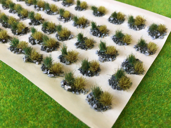 Mountain Mini Tuft Dioramas - Static Grass Tufts