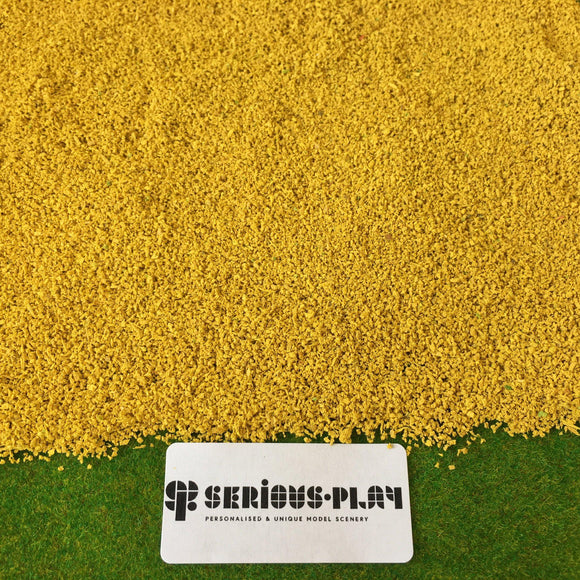 Golden Corn Fields - Real Modelling Flock 1kg Bulk Bag
