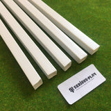 Serious-Play Styrene Strips - Square Tubes x5