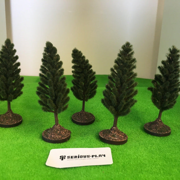 Pine Trees 7cm - Plastic crafted