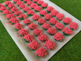 Large Light Red Flower Tufts 6mm