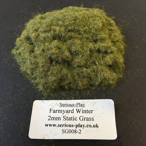 Farmyard Winter 2mm - Static Grass