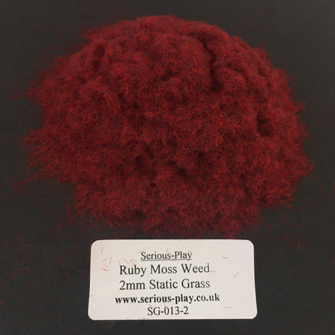 Ruby Static Grass 2mm