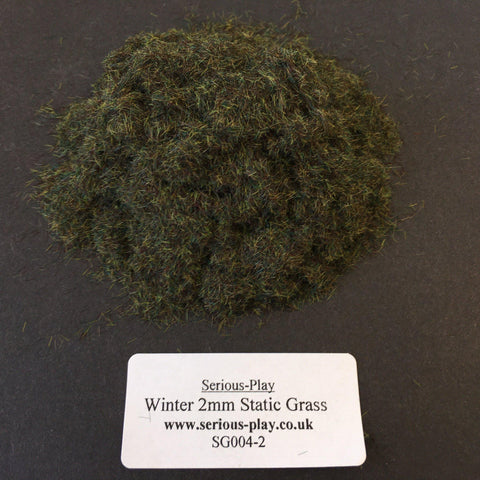 Winter 2mm - Static Grass
