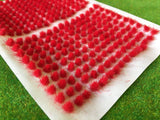 Fire Red 4mm - Mini Grass Tufts