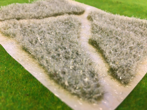 Frosty Meadow Patches - Static Grass Tufts