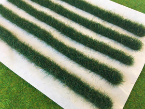 Dark Marsh Strips 14cm - Static Grass Tufts