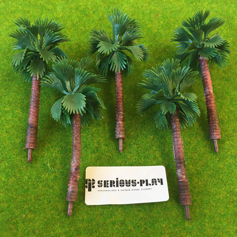 Tall Palm Trees 8cm