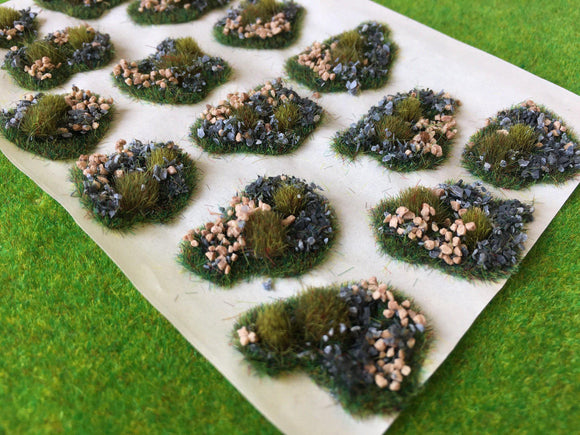 Low Stone Dales Tuft Dioramas - Static Grass Tufts