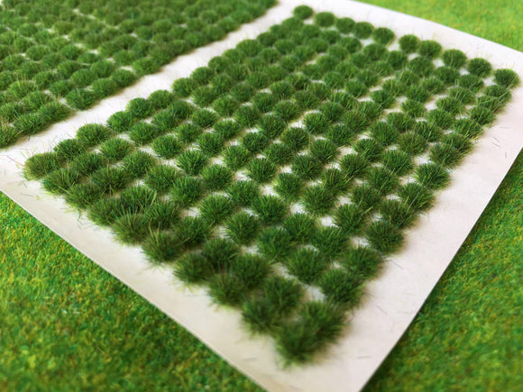 Swamp Green 2mm - Mini Grass Tufts