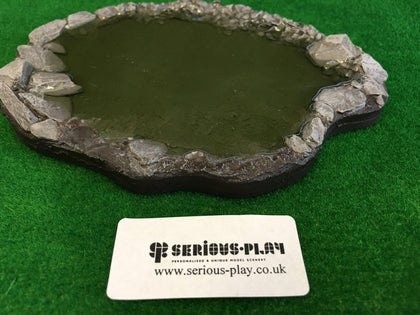 Serious-Play Resin Small Shallow Pond