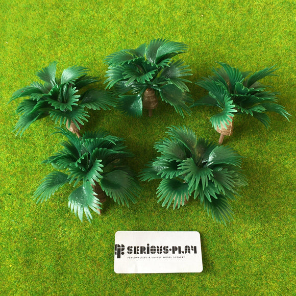 Leafy Palm Shrubs 4.5cm