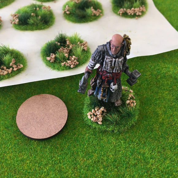 Green Fields - Scenic Base Topper Tufts