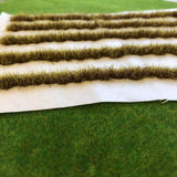Yellow-Brown Strips 18cm - Static Grass Tufts
