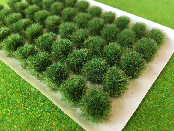 Swamp Green 10-12mm - BIG Grass Tufts