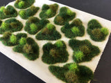 Green Rolling Dales Tuft Dioramas