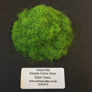 Swamp Green 4mm - Static Grass 1kg/500g Bulk Bags