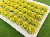 Large Yellow Flower Tufts 6mm
