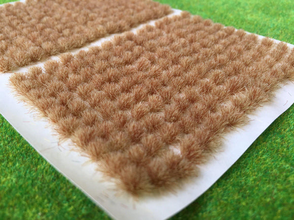 Burnt Grass 4mm - Mini Grass Tufts