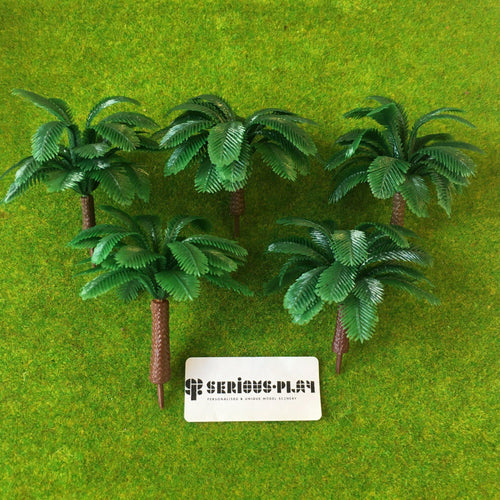 Leafy Coconut Trees 6cm