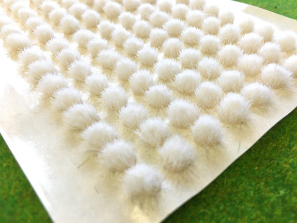White 4mm - Standard Grass Tufts