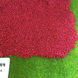 Poppy Red - Real Modelling Flock 1kg Bulk Bag
