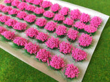 Large Pink Flower Tufts 6mm