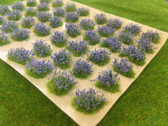 Small Bluebells Patches - Flower Tufts