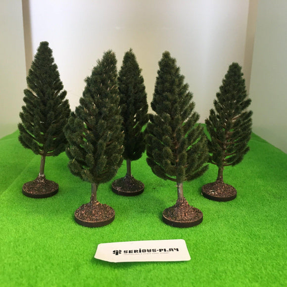 Pine Trees 9cm - Plastic crafted