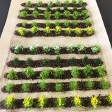 Farm Crops Set 02 Spring Flower Crops - Static Grass Tufts