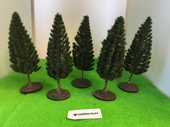 Pine Trees 15cm - Plastic crafted