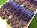 Lavender Flowers & Bushes Mix - Static Grass Flower Tufts