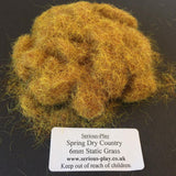 Dry Country Spring 6mm - Static Grass 1kg/500g Bulk Bags