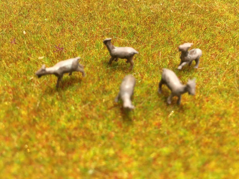 Serious-Play 00 Scale Goats- Resin Animals
