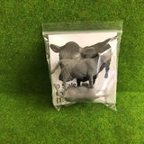 Serious-Play O Scale Cows- Resin Animals