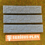 Cut Stone Walls - Detailed Resin Accessories