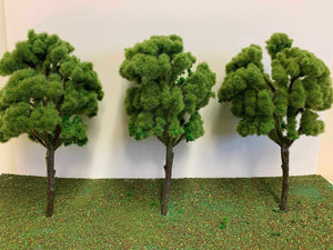 Large Copse Trees - Light Green 19cm