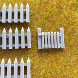 Picket Fences + Gate - Detailed Resin Accessories